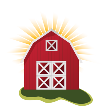 Barn clipart cow. Farmhouse ranch free commercial