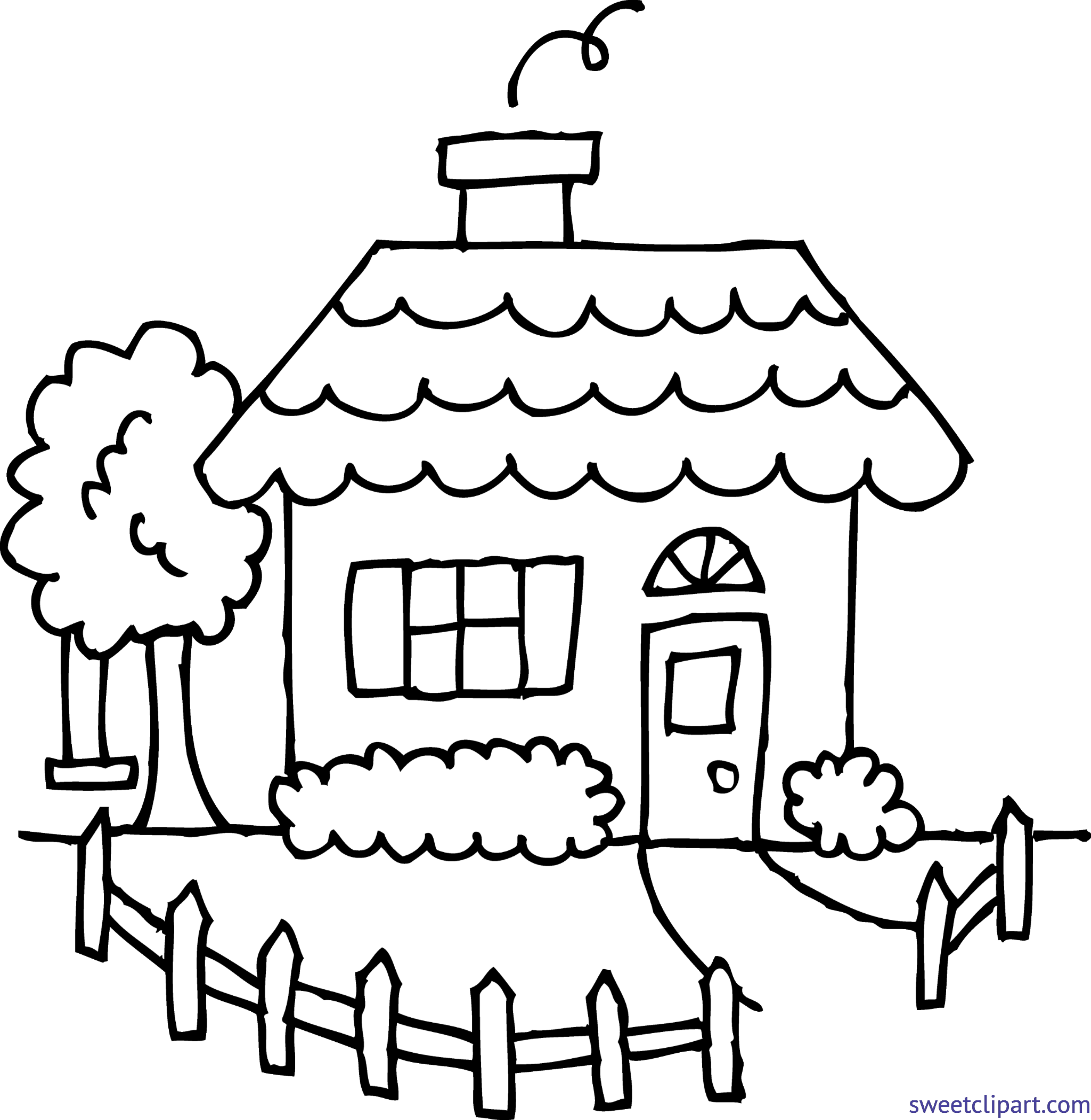 Drawing farmhouse farm clipart. Png freeuse library