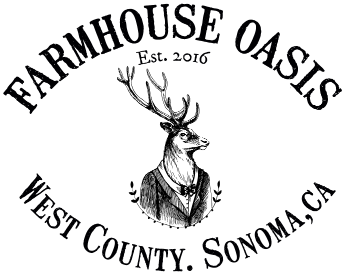 Drawing farmhouse old west. Oasis