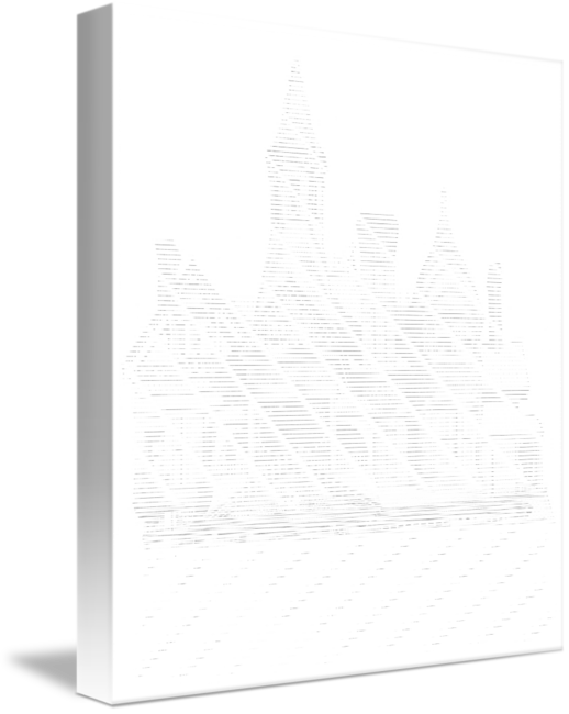 Drawing lighthouse pen ink. And stippled victorian house