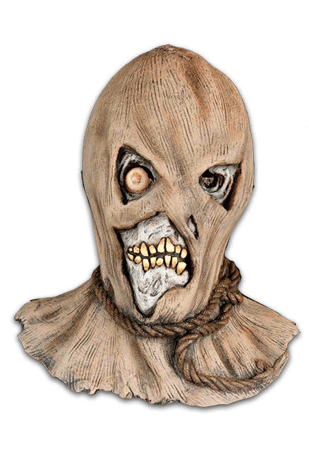 Drawing fear mask. Harvester of nightmare toys