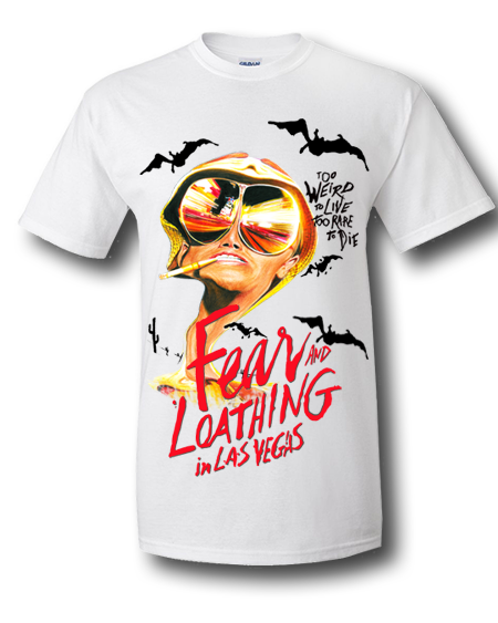 Shirts drawing unique. Fear and loathing in