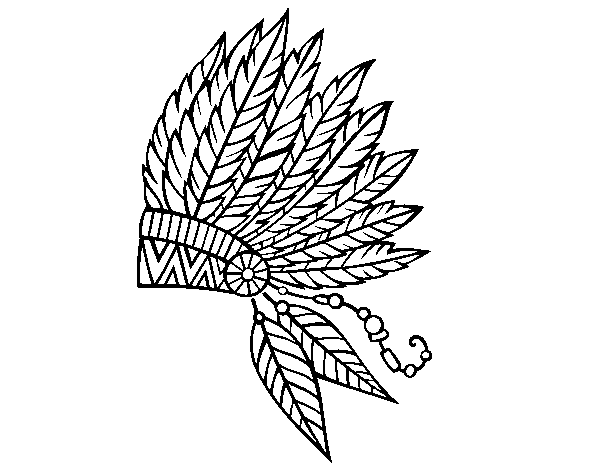 Drawing feather. Indian at getdrawings com