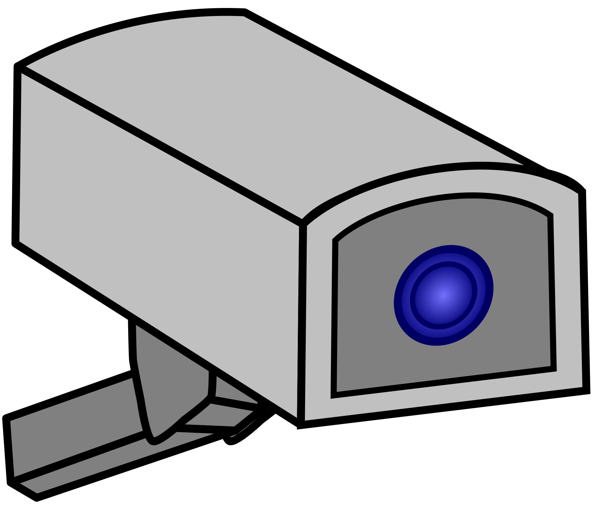 Drawing file. Of a cctv camera