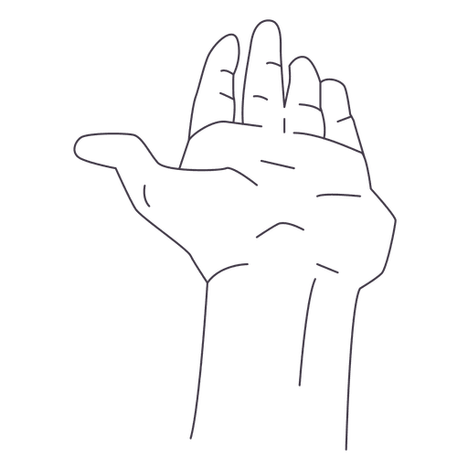 Drawing fingers. Hand transparent png svg