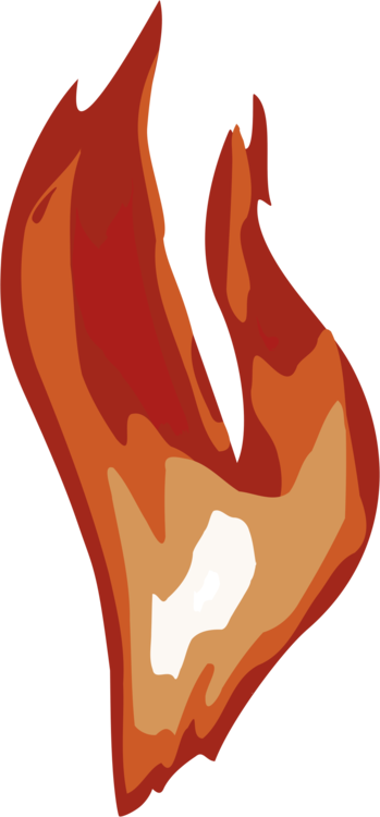 Drawing flame. Computer icons download fire