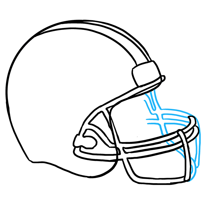 How to draw a. Drawing football clipart freeuse library