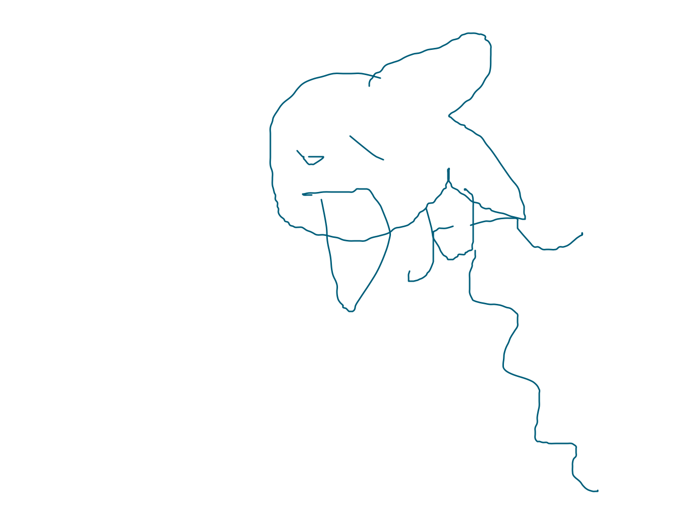 Drawing forum. Draw a fish wearing