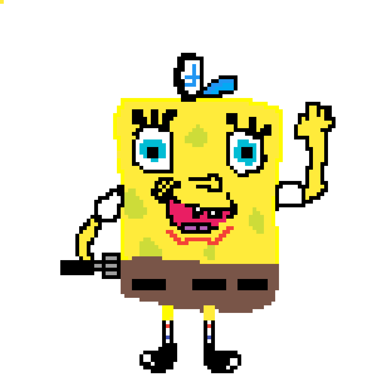 Pixilart of spongebob by. Sublime drawing bad graphic library download
