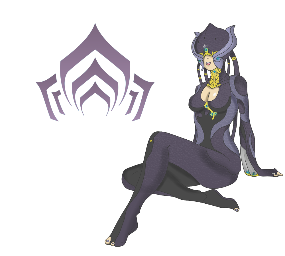 Warframe drawing anime. The mother of all