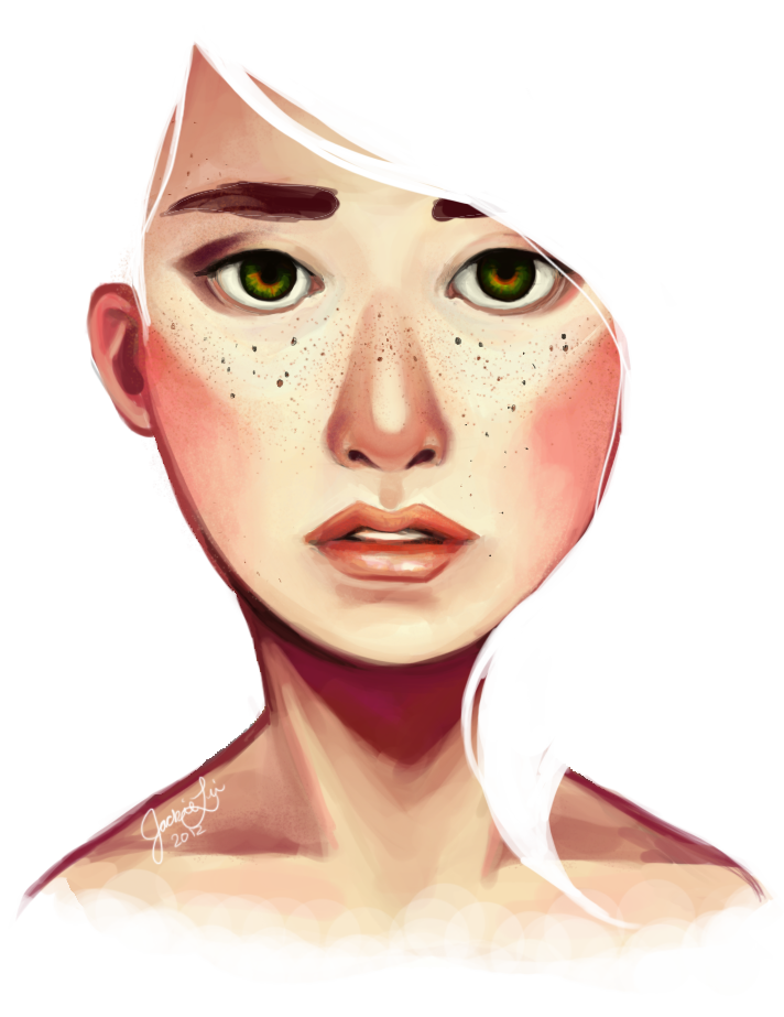 drawing freckles