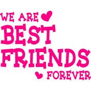 Drawing friendship friend forever. We are best friends