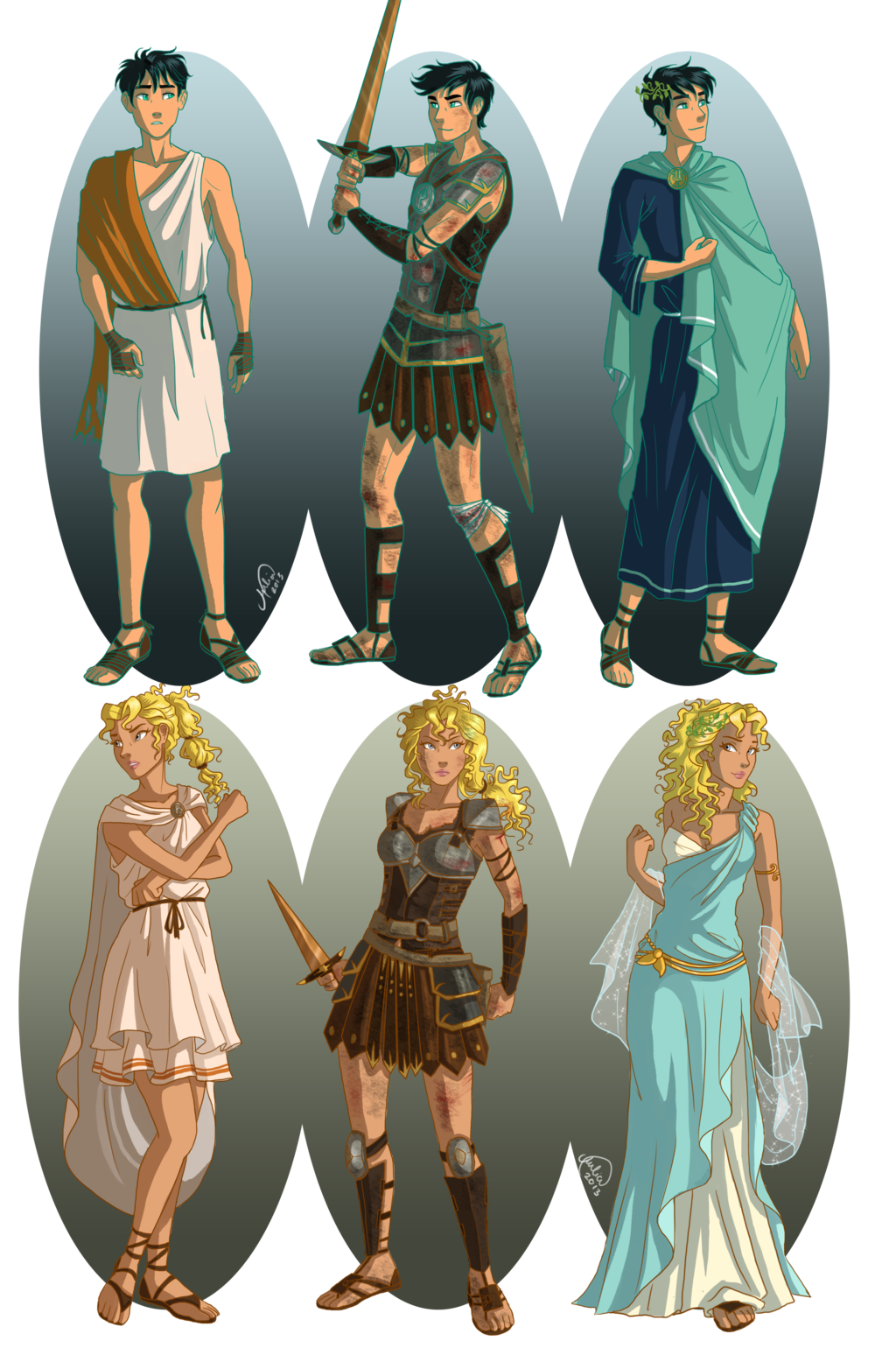 Drawing friendship percy jackson book. Ancient greece by juliajm