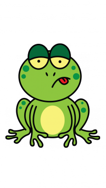 drawing frog easy
