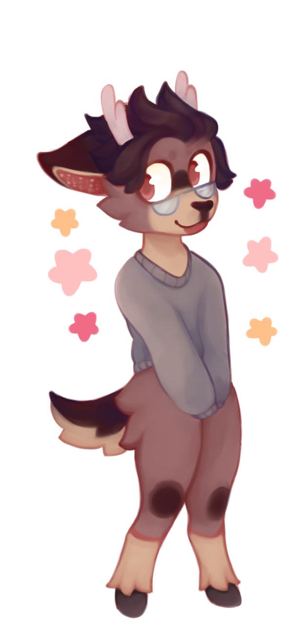 Drawing furry aesthetic. Autumn by flickeru on