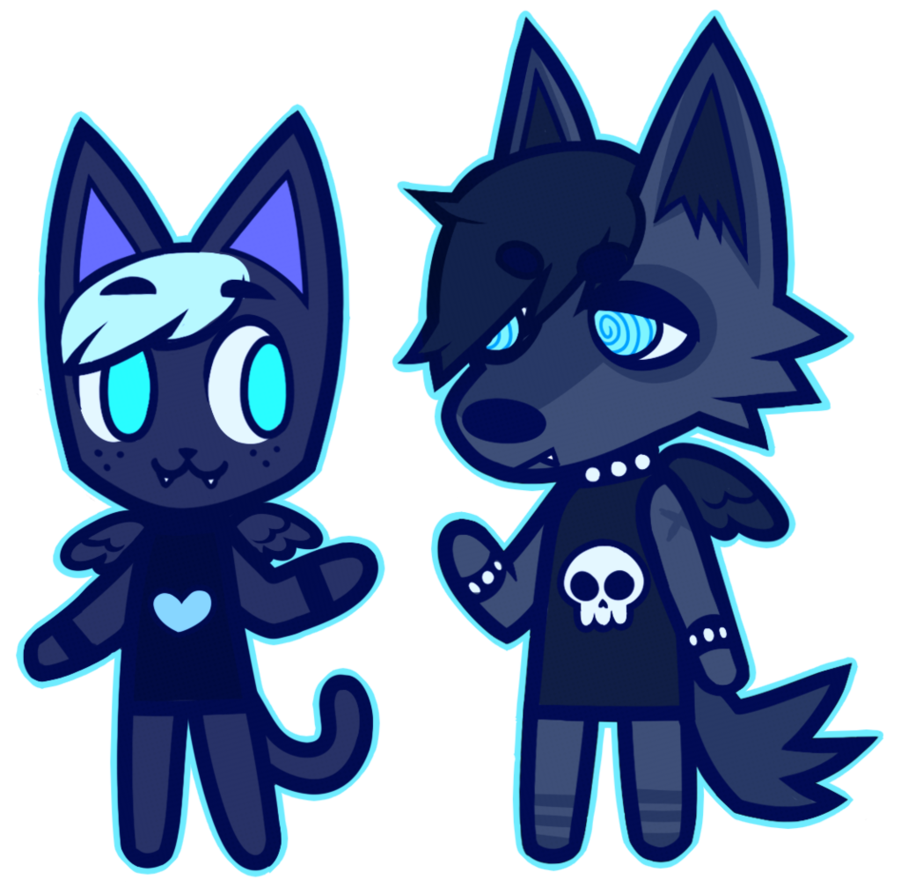 Drawing furry emo. Bfs by kittybf on