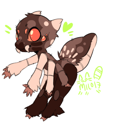 Drawing furry love. Anthro spider tumblr babby