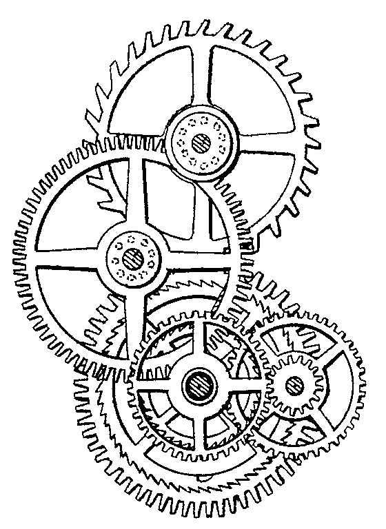 sprocket drawing cog
