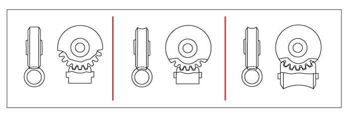 Tec drawing gear. Gears spur helical bevel