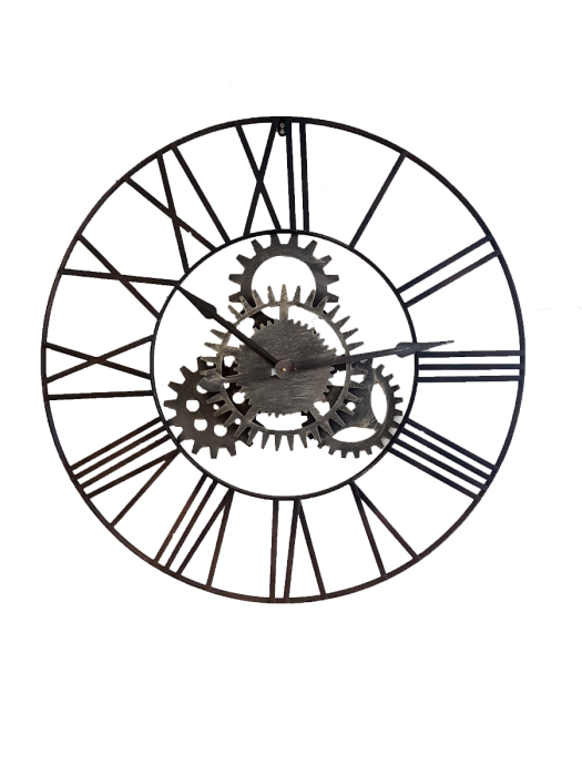 Drawing gears clock workings. Cogs a for the