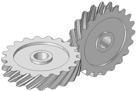 Drawing gears cross. An introduction to gear