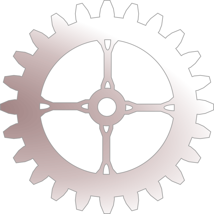 Drawing gears sprocket. Bicycle gearing computer icons