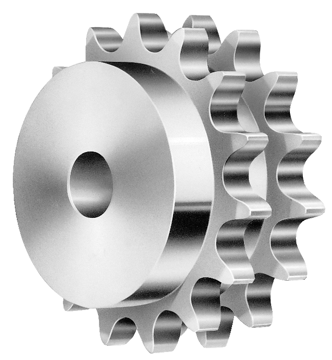 Sprocket drawing gear. Double strand sprockets parts