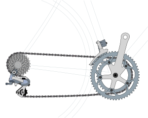 Bicycles maintenance and repair. Biking drawing gear cycle picture stock