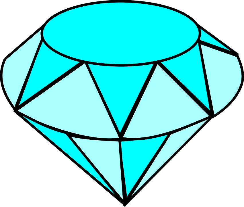 Vector hd diamond. Collection of free gems