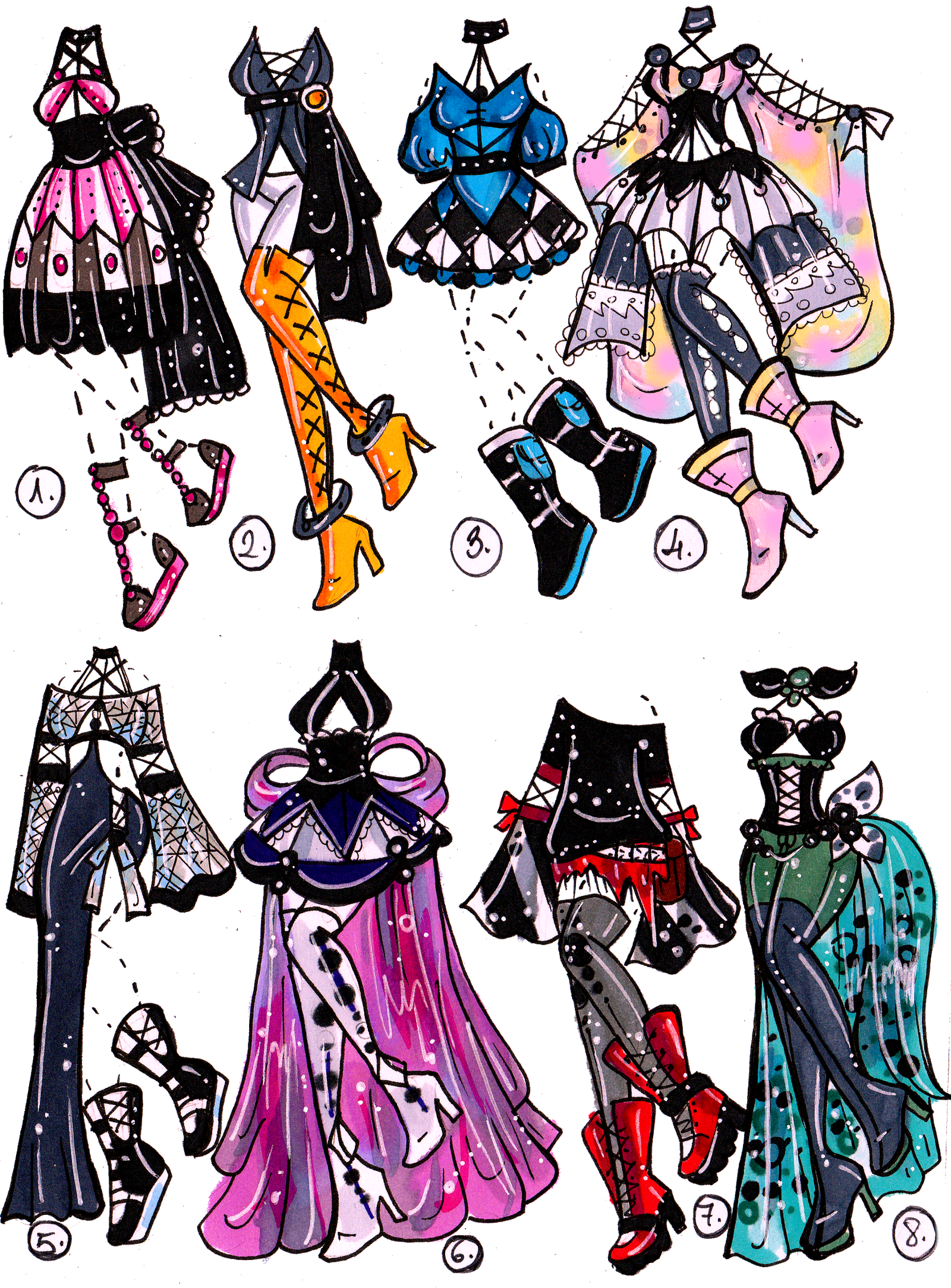 Drawing gemstones cool. Closed gem outfit adopts