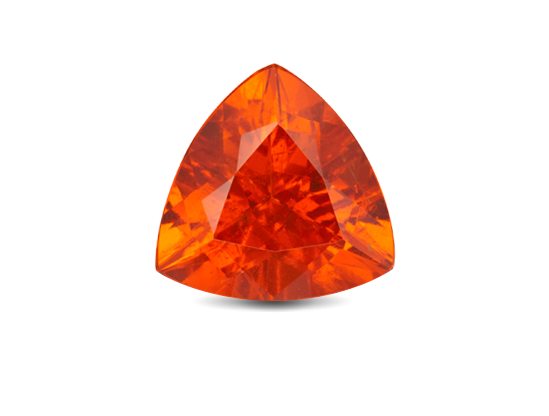 Transparent minerals garnet. Gemstone education harris jeweler