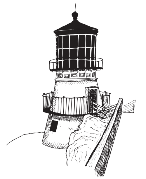 Drawing lighthouse floating. Gregory purifoy portfolio lighthousepng