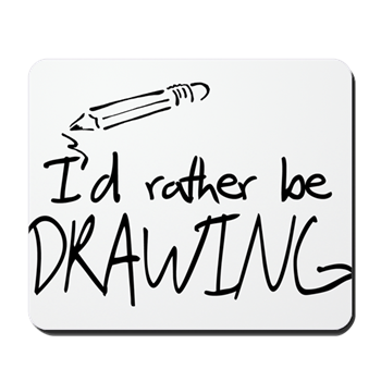 I d rather be. Gifts drawing royalty free stock