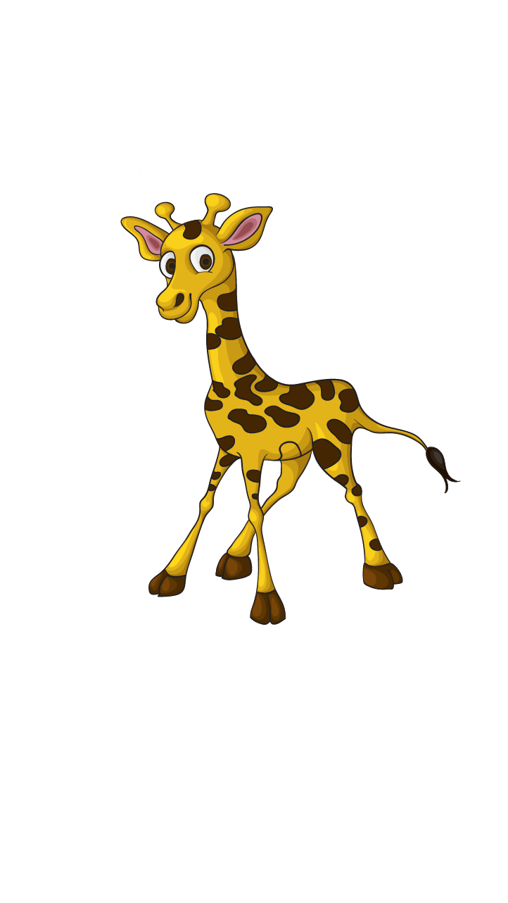 Drawing giraffe. How to draw a