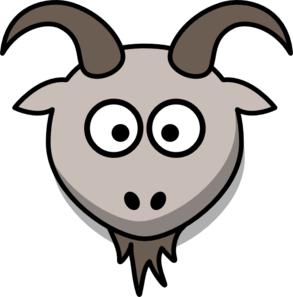 Drawing goats cute. Goat clipart at getdrawings