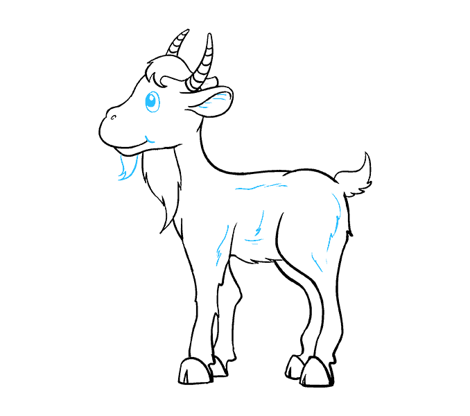 goats drawing