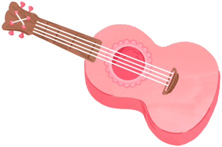 Drawing guitar kawaii. Gitar freetoedit picsart cute