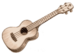 Drawing guitar cute. Ukulele at getdrawings com