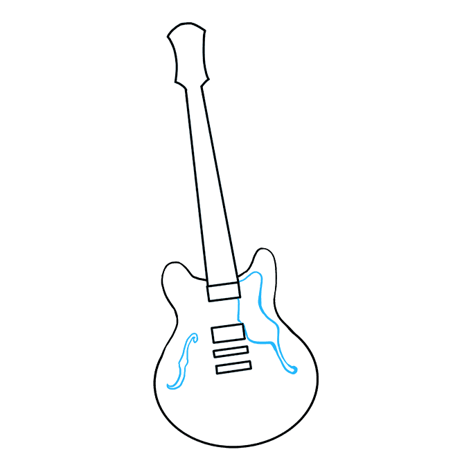 Drawing Guitar Easy Transparent Png Clipart Free Download Ya