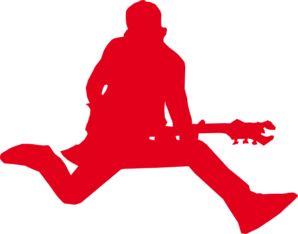 Rock star with clip. Drawing guitar rockstar clip freeuse library