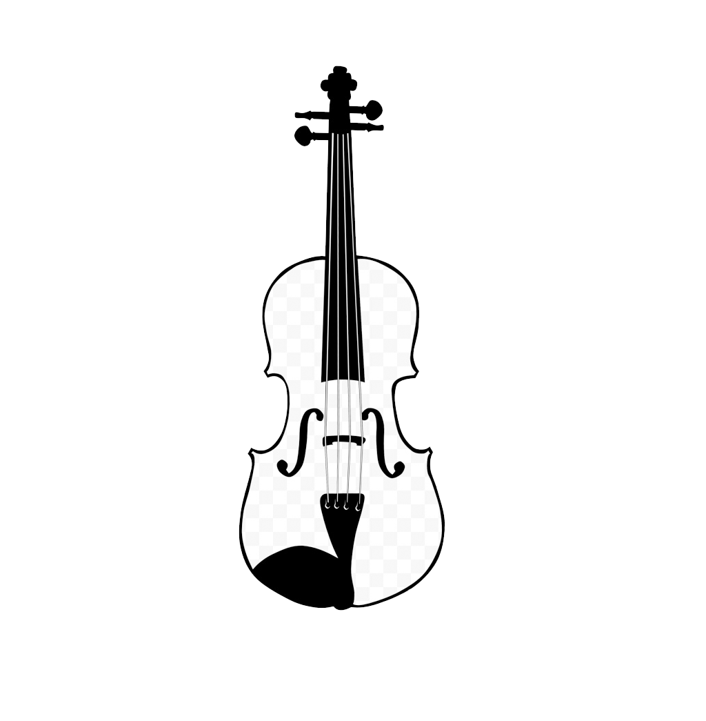 Bow clip art hand. Drawing guitar violin clipart transparent library