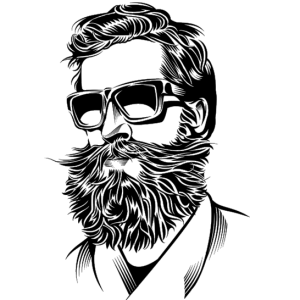 Drawing guys beard. A for your face