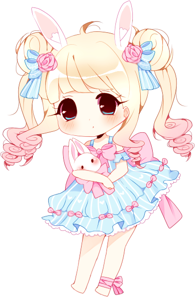 Shy drawing chibi. C meruuka by myaoh