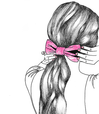 Headband drawing 1950 hairstyle. Actually i love to