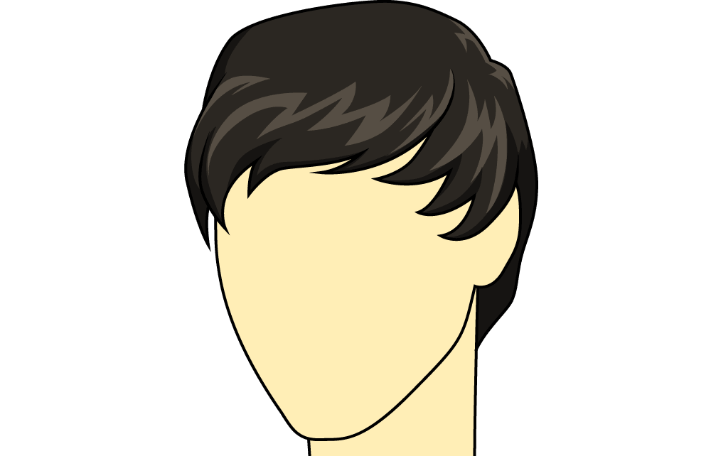Drawing i hairstyle. How to draw male