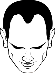 Drawing hairlines profile. How to stop receding
