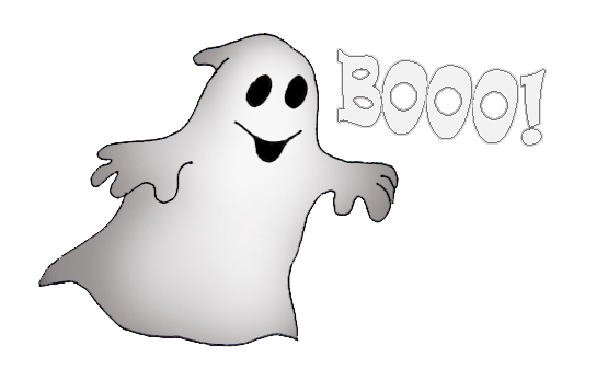 Drawing halloween ghost. Ghosts