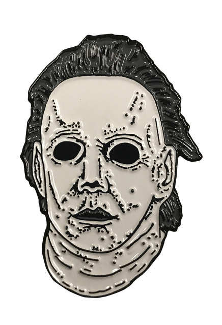 Drawing halloween michael myers. The curse of enamel