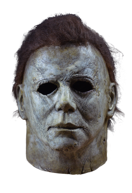 Mask. Drawing halloween michael myers banner library library