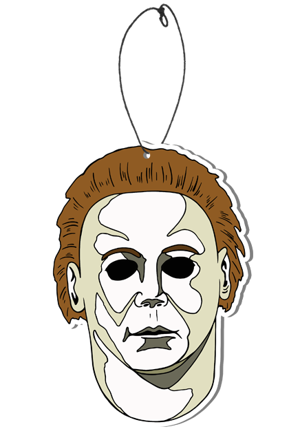 Drawing halloween pop art. Michael myers h scare